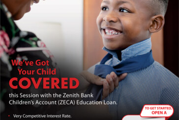Zenith Bank Offers Education Loan For School Children