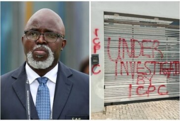 Alleged Corruption: Pinnick's Lagos Residence Placed Under ICPC Investigation