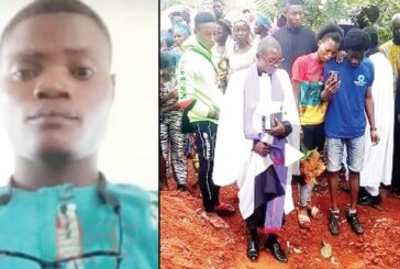 Family Buries FUOYE Student Amidst Tears (VIDEO)