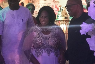 PHOTOS: Ex Governor Ayo Fayose Celebrates Mother's 80th Birthday, Throws Exquisite Party