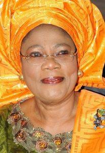 Former deputy Governor of Osun state, Otunba (Mrs.) Grace Titilayo Laoye-Tomori