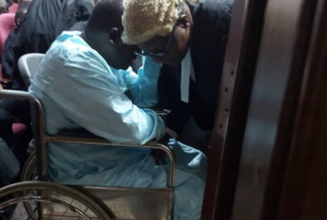 JUST IN: Maina Arrives Court In Wheelchair For Bail Application