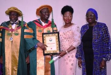 NSE Confer Honorary Fellowship On Laralek Group Boss, Adebiyi