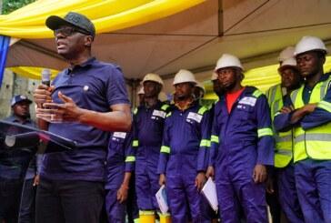 PHOTOS: Lagos Governor Sanwo-Olu Flags Off Victoria Island-Oniru Road Upgrading Project