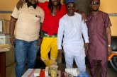 Showbiz Manager Alex Ozone Gives Back To The Society, Visits Less Privileged