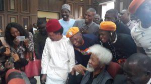 Sowore's Trial: Soyinka, Shehu Sani In Court To Witness Hearing