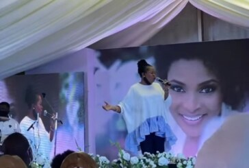 Tope Alabi, Sammie Okposo, Others Converge At Late Ibidun Ighodalo's Service Of Songs (Photos)