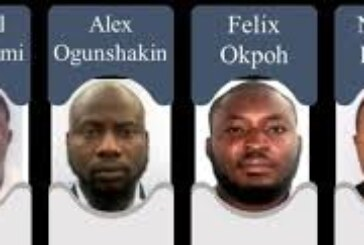 Six Nigerians Linked To $6 Million Scam In The US