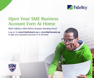 Fidelity Bank Advert