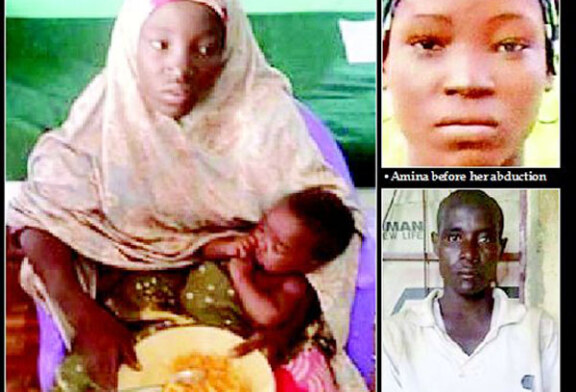 Chibok girl found with baby and husband