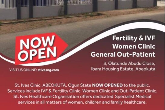 Governor Amosun, Lanre Tejuosho, Alaba Lawson To Open St Ives Clinic Abeokuta