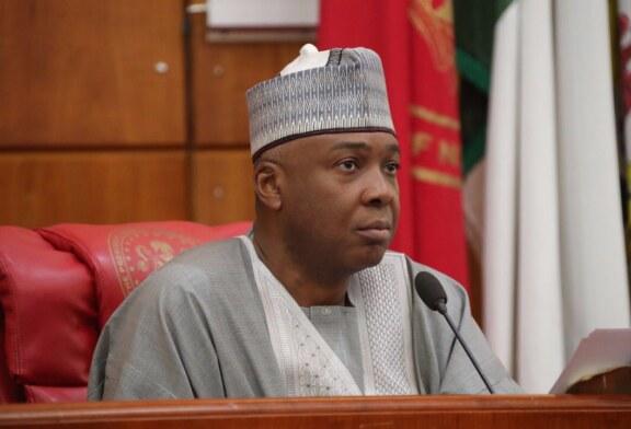 Breaking: Saraki appears in Senate … presides over plenary