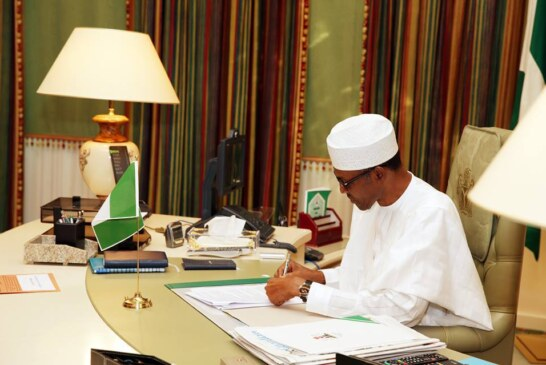 President Buhari to sign into law the #NotTooYoungToRun bill today