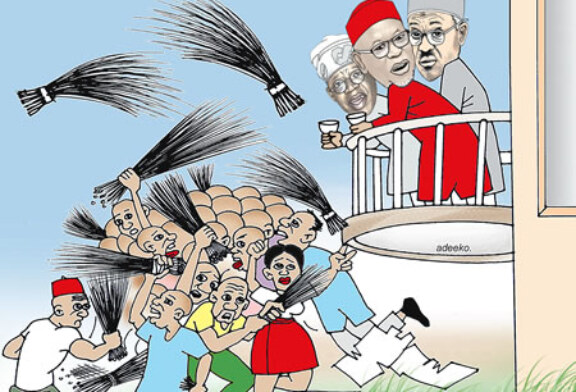 'Woeful Perfomance', 'Politically Derail' – five shots new APC faction fired at ruling party