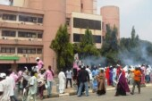 BREAKING: Shiite protesters chase away policemen, ground federal secretariat