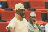 Buhari's comment about lawmakers 'unpresidential,' Melaye says