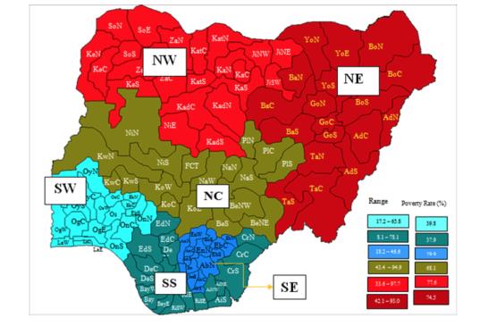 What Nigeria needs are 9 geo-economic zones, not 6 geo-political zones
