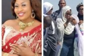 Photos from the Funeral of Nollywood actress Aisha Abimbola aka Omoge Campus in Canada