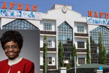 Law on drug offence weak – NAFDAC DG, Moji Adeyeye
