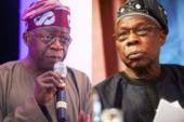 Obasanjo, You Are Novice To Democracy – Tinubu