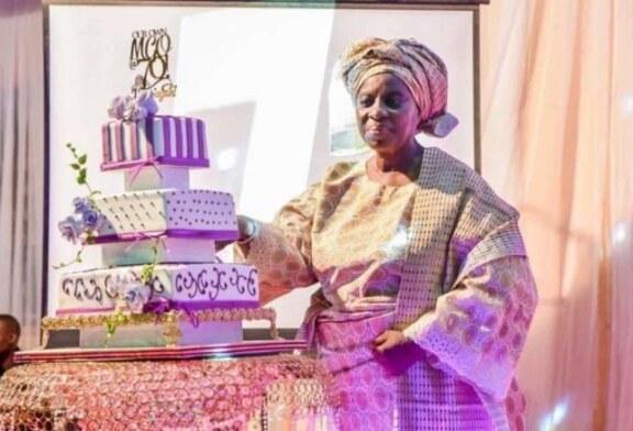 PHOTOS: Osinbajo, family and friends converge for 70th birthday of Foluke Adeboye