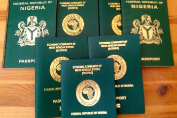 Nigerian passport valid for 10 years