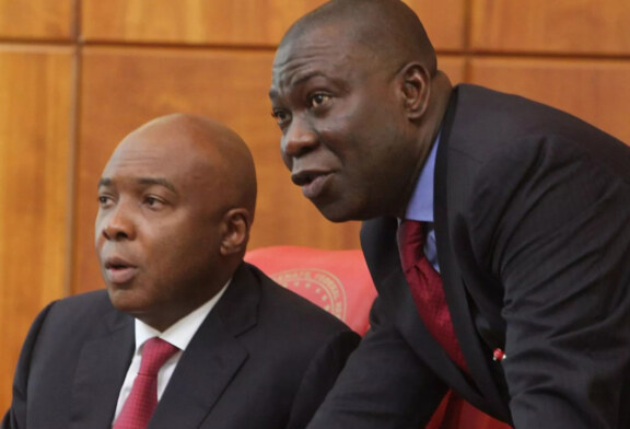 BREAKING NEWS: Saraki, Ekweremadu's residences reportedly lay siege by Security agents