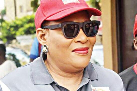 Kemi Nelson Invades Lagos APC Party Secretariat With Thugs