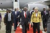Theresa May speaks on experience in Lagos, Nigeria