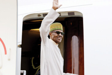 Buhari Arrives Burkina Faso For ECOWAS Summit