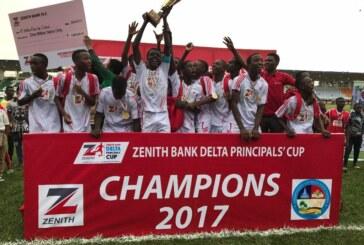 Zenith Bank Delta Principals' Cup starts Oct 31