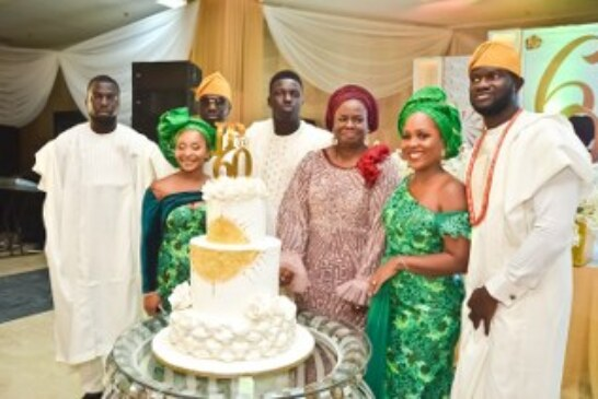 Femi Pedro Stages Jaw-Dropping 60th Birthday For Wife (PHOTOS)