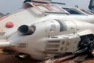 JUST IN: VP Osinbajo's Chopper Crash Lands In Kogi