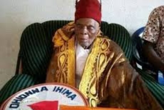 Just in: Kogi Traditional Ruler Obobanyi Dies At 116