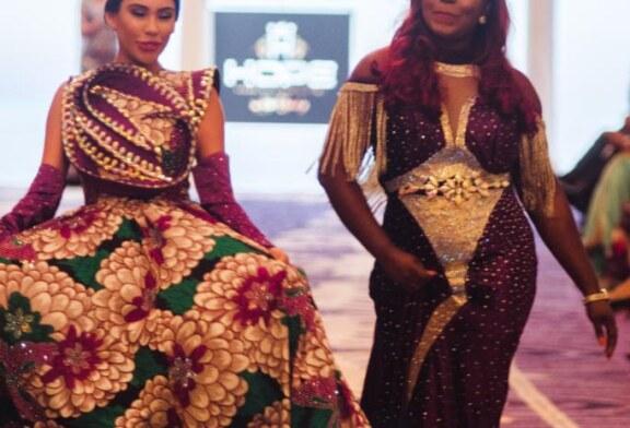 Fashion Meets Royalty…As Kiki Okewale Dazzles At Dubai Fashion Week (PHOTOS)