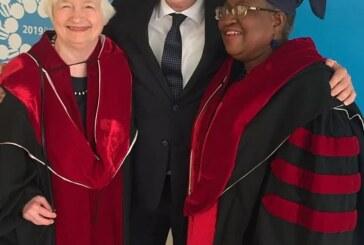 Ex-Finance Minister Okonjo-Iweala Bags Honorary PhD In Israel