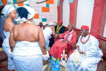 Actress Regina Daniels Officially Marries Ned Nwoko, Gets Initiated Into The Married Women Group In Delta state (Photos And Video)