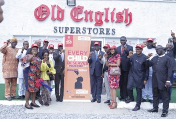 Polio Eradication: Rotary Club Of Ikeja South Partners Old English, IDCL