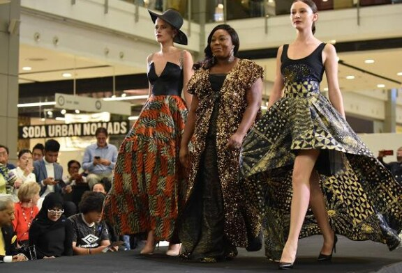 History Maker: Top Designer Kiki Okewale Makes Waves At 'Thai Silk Festival' In Bangkok