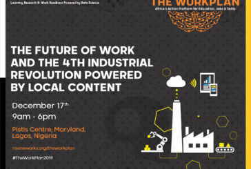 Rise Networks To Host 'The Workplan 2019' , 4th Industrial Revolution Workshop