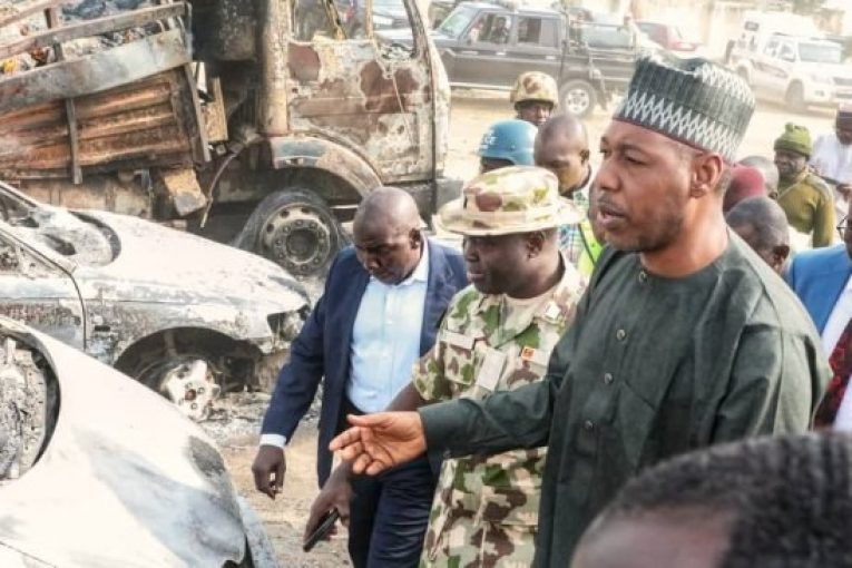 Zulum Commends Army's Routing Of Boko Haram Insurgents In Damboa