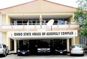 Ondo Assembly Suspends Deputy Speaker, One Other Over Deputy Governor's Impeachment